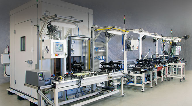 automotive seating test systems Barrie