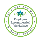 The Globe and Mail Employee Recommended Workplace 2018