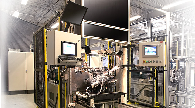 automative powertrain machine in Barrie