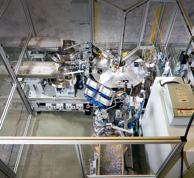 medical devices assembly cell in Barrie Ontario