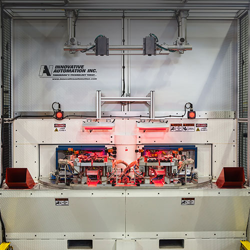 welding automation at Innovative Automation in Barrie