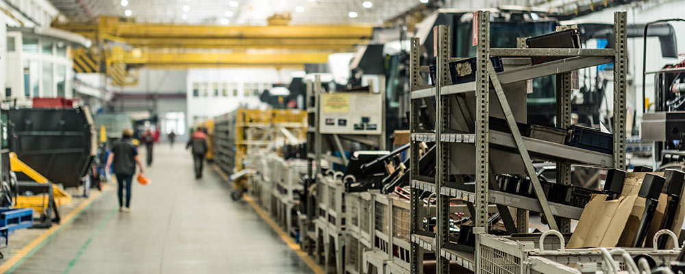 Storage on manufacturing floor